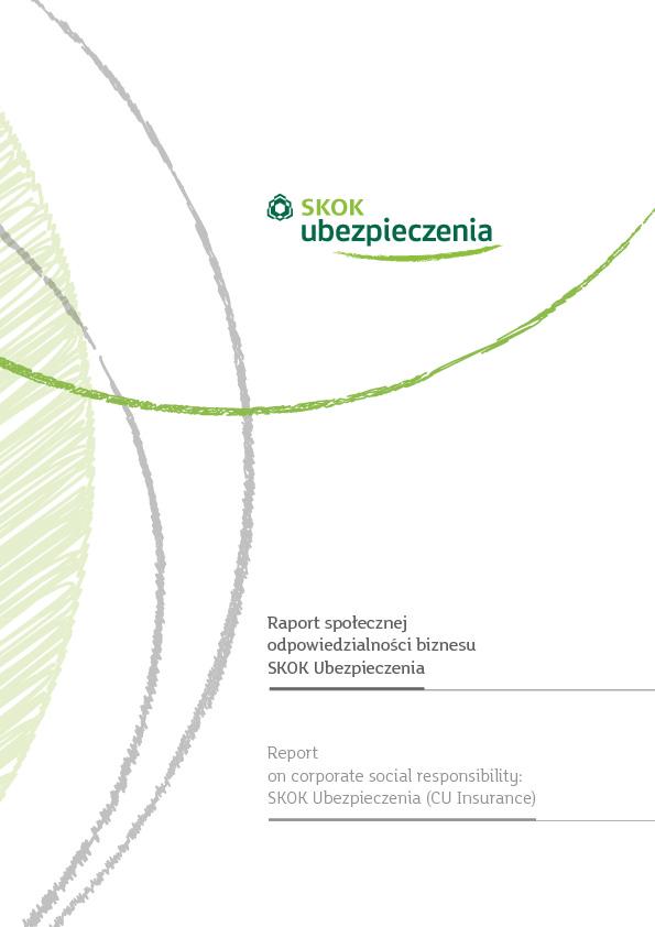 Raport społecznej odpowiedzialności biznesu SKOK Ubezpieczenia