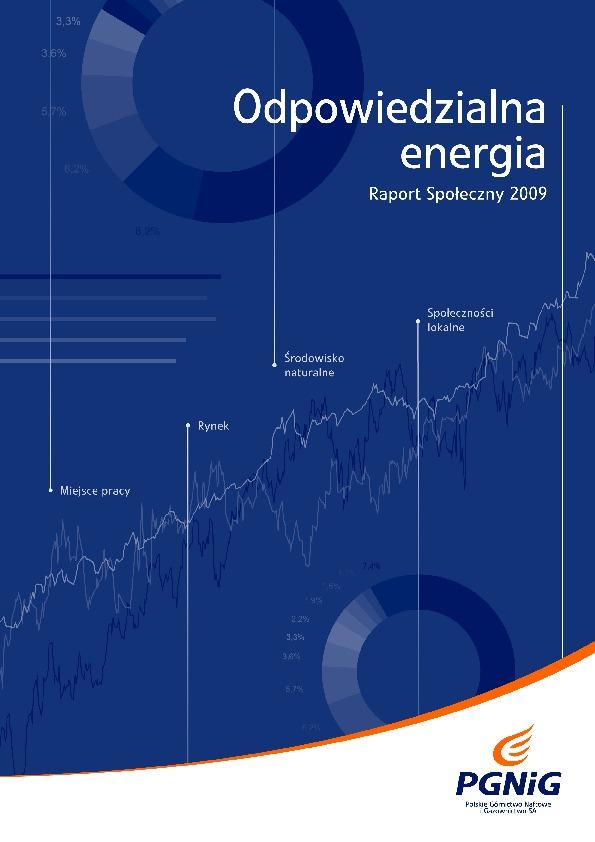 Odpowiedzialna energia. Raport społeczny 2009