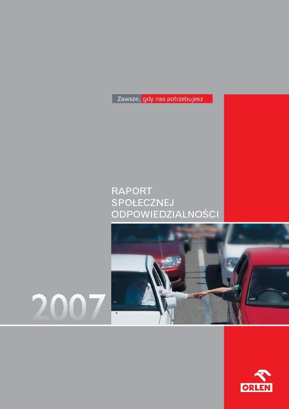 Raport społecznej odpowiedzialności 2007