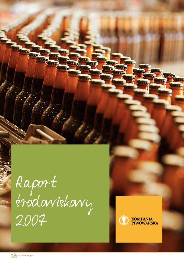 Raport środowiskowy 2007